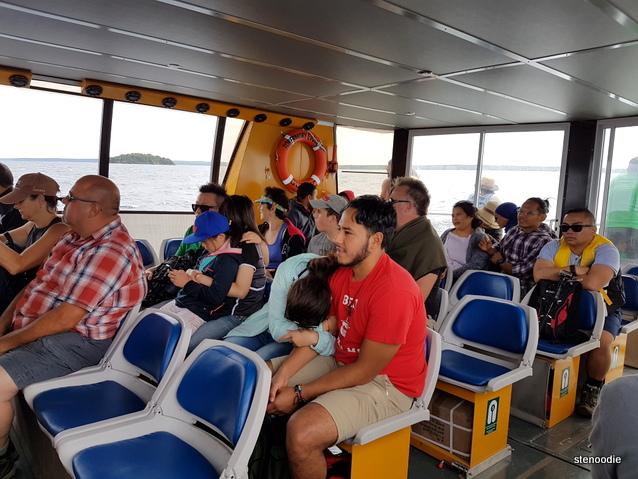 Bruce Anchor passengers