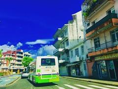 #surreal #colors #fortdefrance #blue #ig_fortdefrance #busmozaïk #town #city #ig_fortdefrance #ig_caraibes #ig_caribbean #ig_martinique