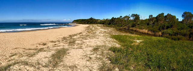 South End of Diamond Beach, Hallidays Point, NSW