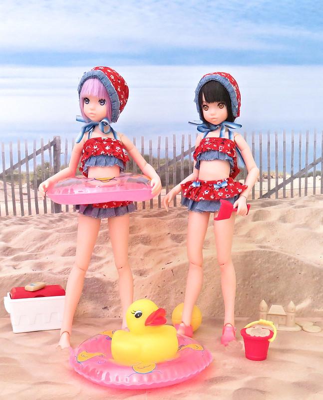 Cami & Rebi At The Beach