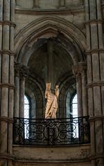 cathédrale de noyon ... la vierge marie et son enfant