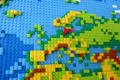 dirks LEGO world map 8 europe