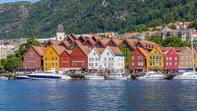 Bergen Waterfront. Bergen, Norway