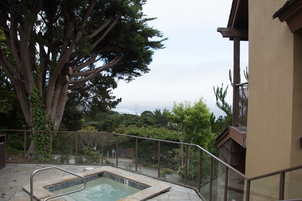 Hot Tub at Hyatt Carmel Highlands