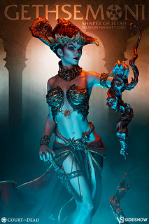 Sideshow Collectibles 死亡法庭【血肉塑形者】Court of the Dead Gethsemoni: Shaper of Flesh 1/4 比例全身雕像作品