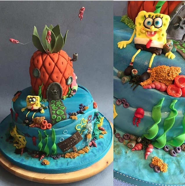 Spongebob Square Pants by Clair'Marie Mackness