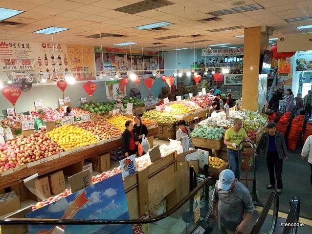 Chinese-style supermarket