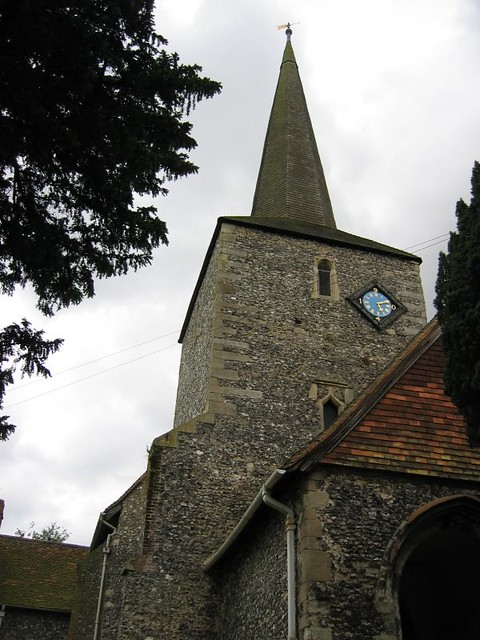 church of st martin of tours in eynsford