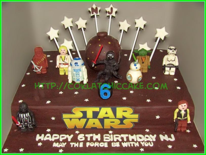 Cake StarWars NJ