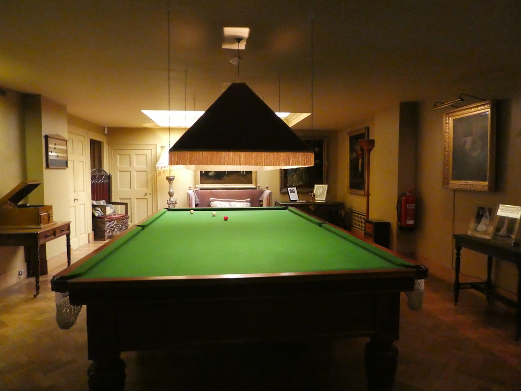 The Snooker Room at Upton House