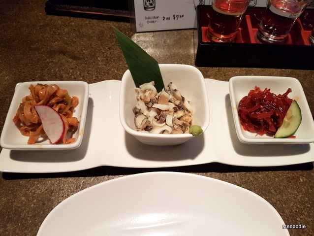 Three Seafood Appetizer Set