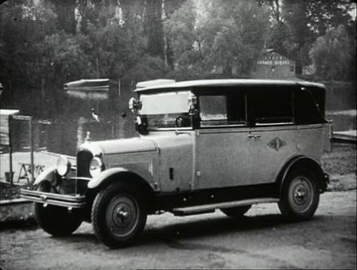 1927 Citroën 10 HP Taxi [B12]