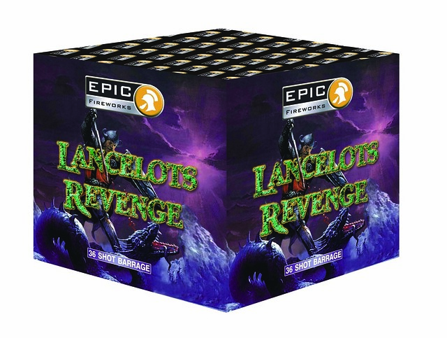 Lancelots Revenge 36 Shot 1.3G Single Ignition Cake #EpicFireworks