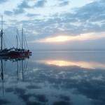 Cloudy and foggy sunrise - av evisdotter