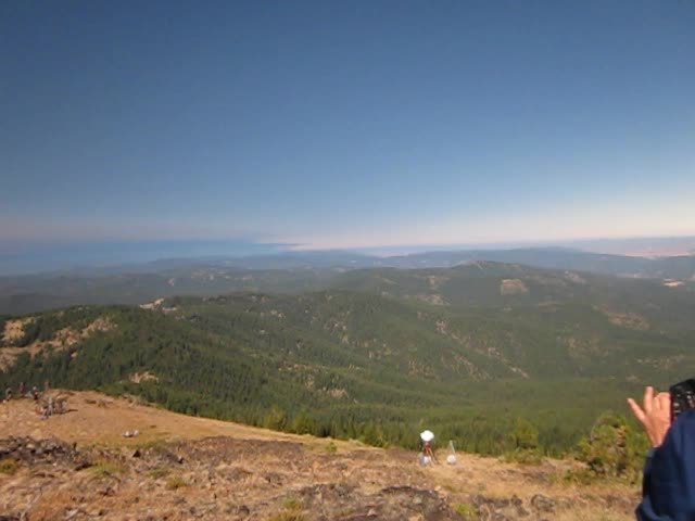 6388 Vicki's video (part 2) of the Total Solar Eclipse on Dixie Butte