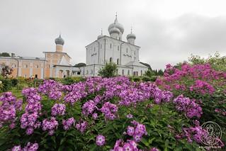 Литургия в Хутынском монастыре 120