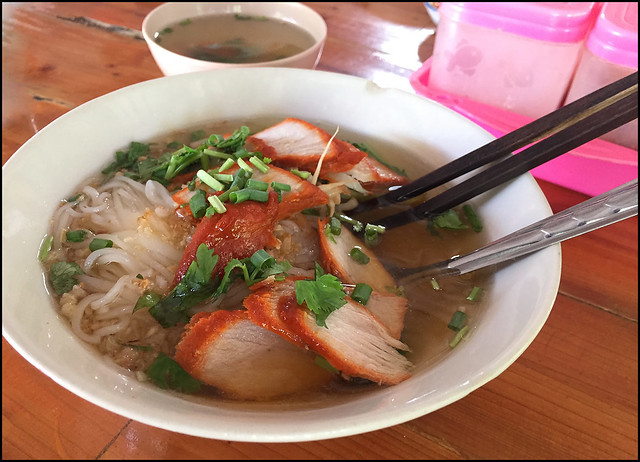 Lunchtime Noodles in Koh Lanta Old Town