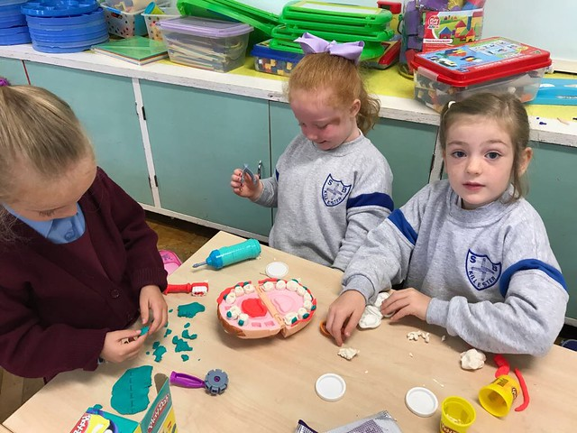 Busy Senior Infants