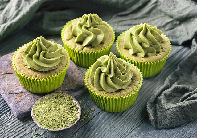 Matcha Cupcake 3