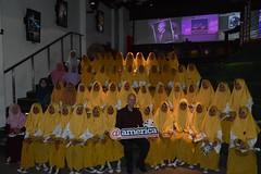 Schools@america MA Ardaniah Kota Serang with Major Aaron Doyle