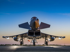 OFFICIAL ROLL OUT FOR FIRST OMAN EUROFIGHTER TYPHOON COMBAT JET