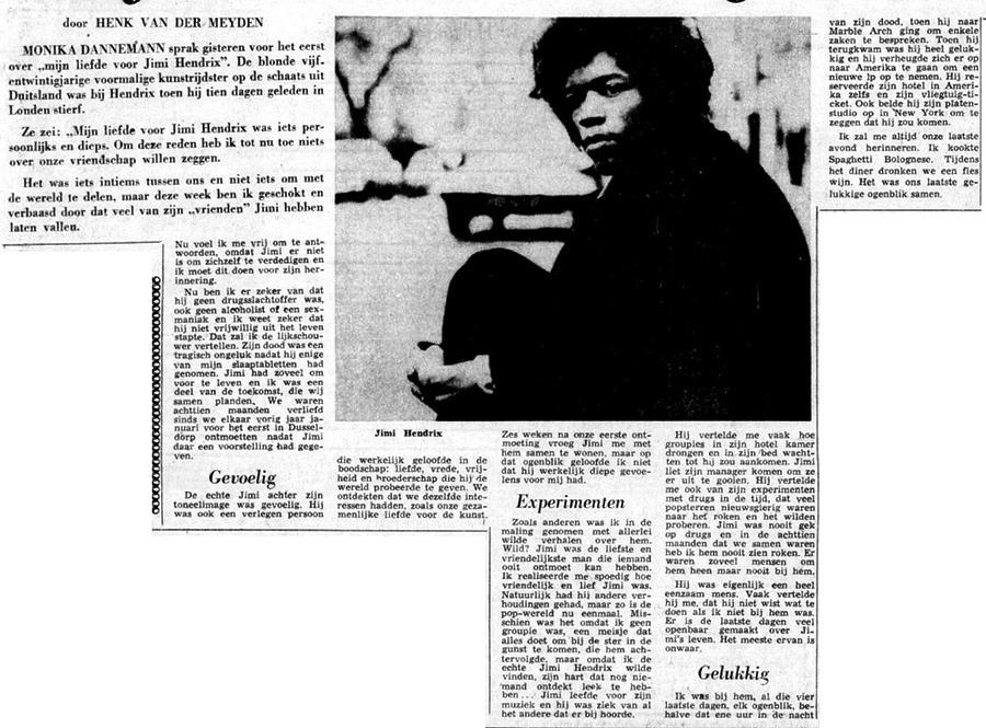 DE TELEGRAF (NETHERLANDS) SEPTEMBER 29, 1970