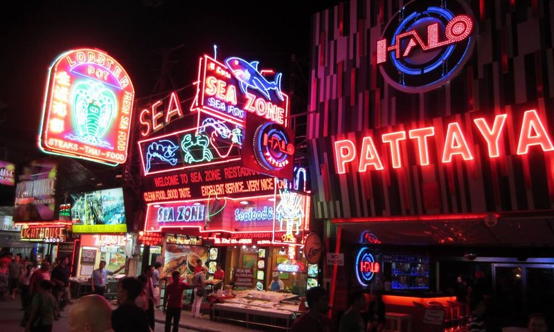Fun city Pattaya Thailand resort