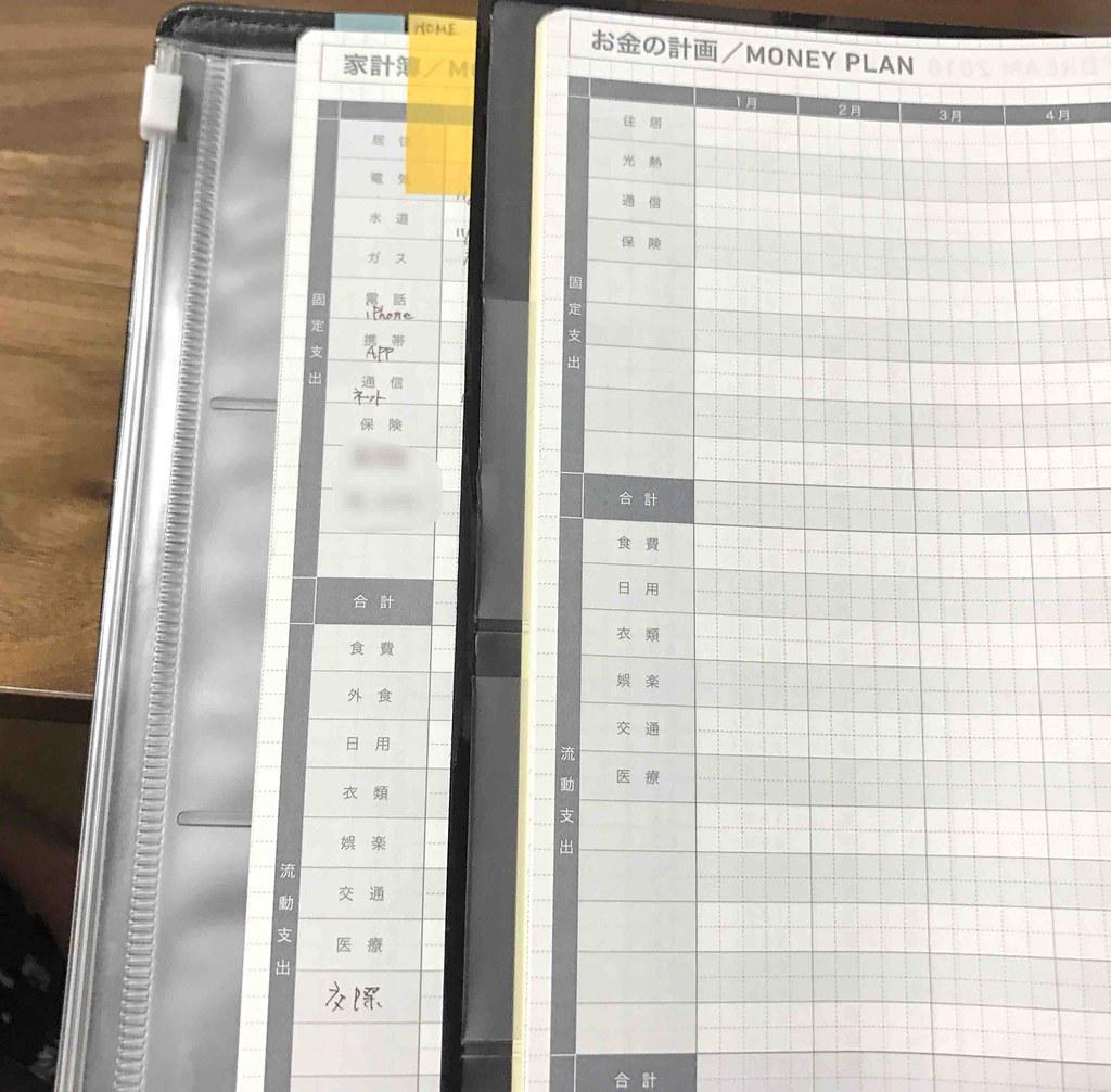 Biz比較 家計簿ページ