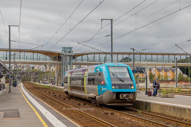 04 septembre 2017 x 73532  Train 855034 Roscoff -> Morlaix Morlaix (29)