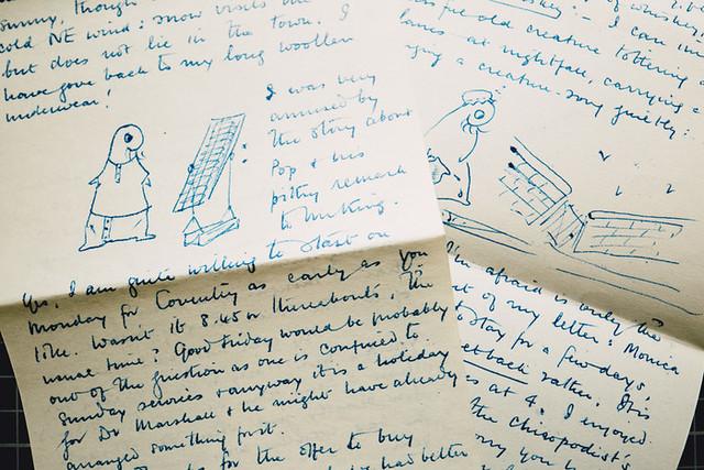 Larkin's Letters © Tom Arran