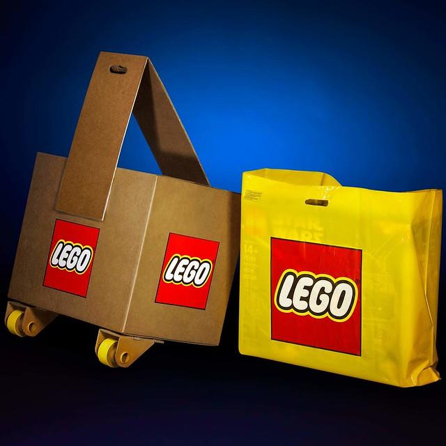 75192 UCS Millennium Falcon większy nić największa reklamówka LEGO