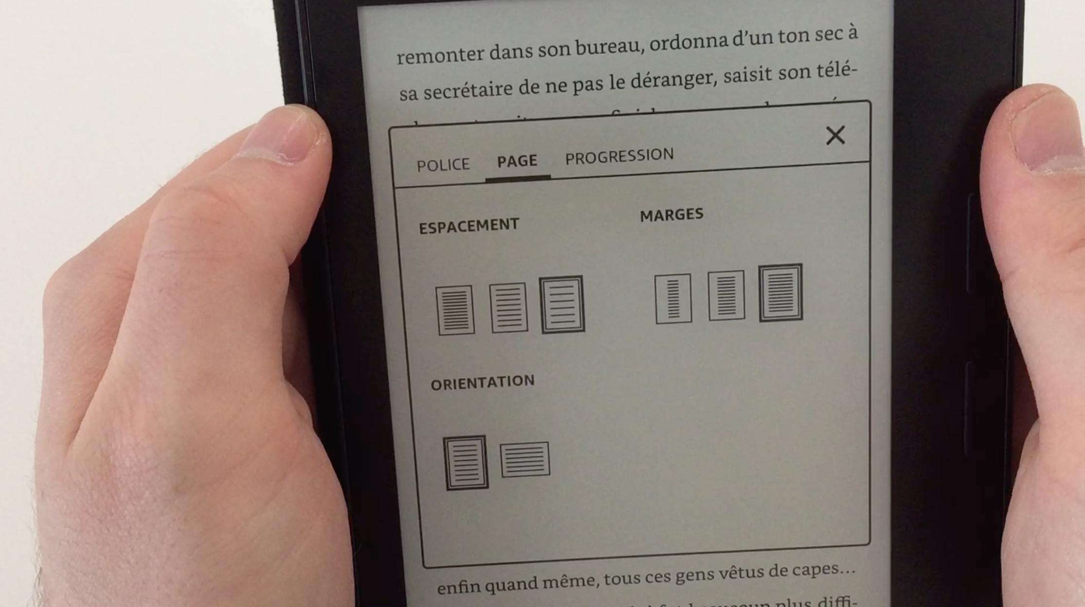 20170827 Test de la liseuse électronique Kindle OASIS Amazon 24