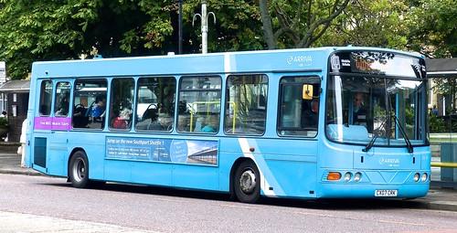CX07 CRK 'Arriva North West' No. 2633 'Light blue livery' VDL SB120CS / Wright Cadet /2 on 'Dennis Basford's railsroadsrunways.blogspot.co.uk'