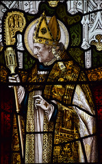 Bishop Edward King as St Richard of Chichester (Powell & Sons)