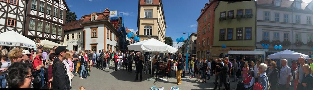 Erstes ACHAVA Straßenmusik-Festival in Erfurt