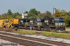 NS 9373 | GE C40-9W | NS Memphis District