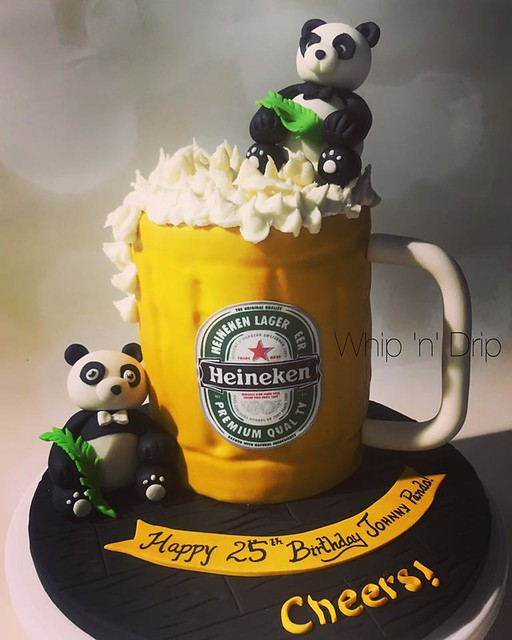 Beer Mug Cake by Whip 'n' Drip