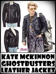Kate McKinnon Ghostbusters Leather Jacket