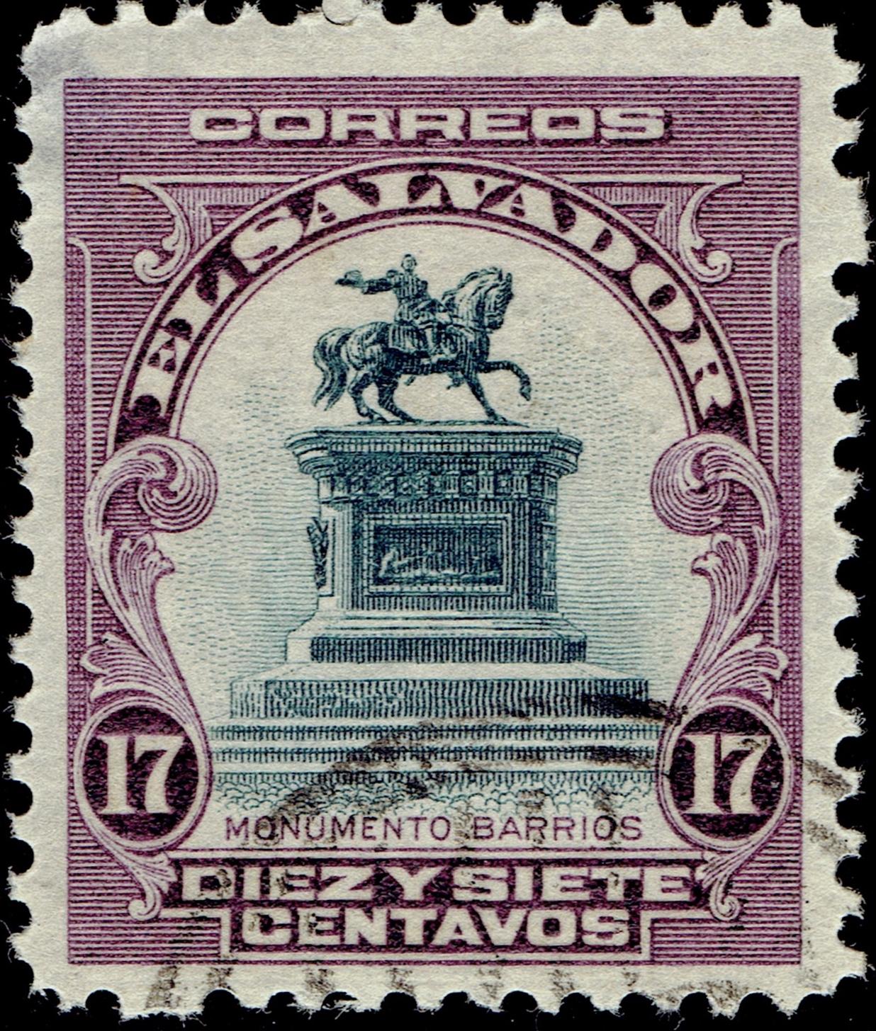 El Salvador #407 (1912)