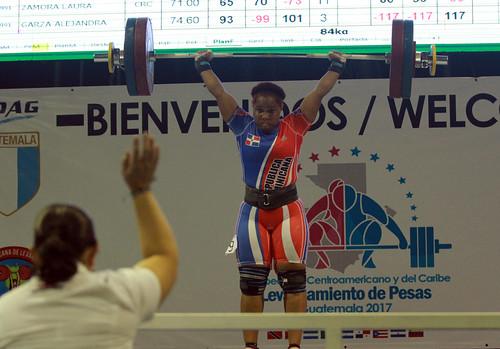Día 4 del Campeonato Centroamericano y del Caribe de levantamiento de pesas