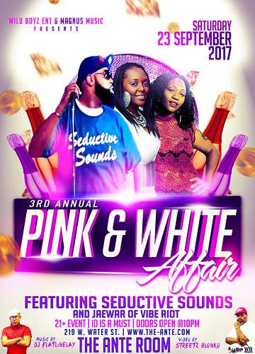 Pink & White Affair Flyer (Print)