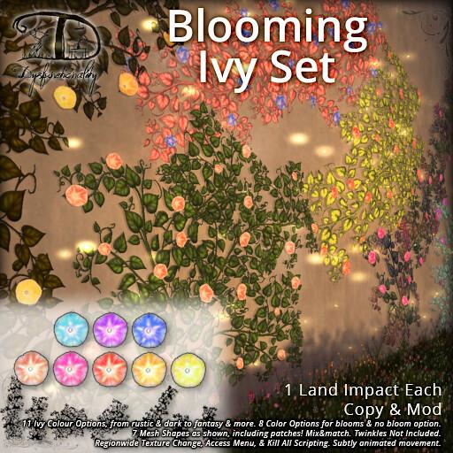 Blooming Ivy Set - TeleportHub.com Live!