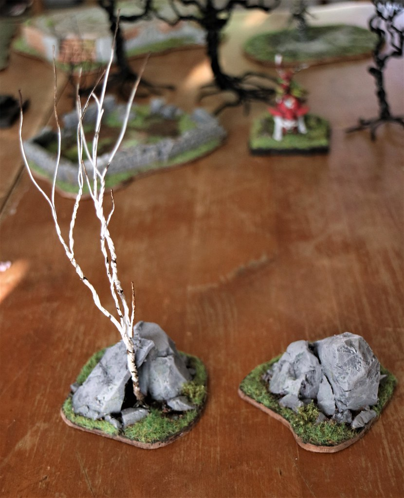 Runewars Miniatures Rocky Outcrops
