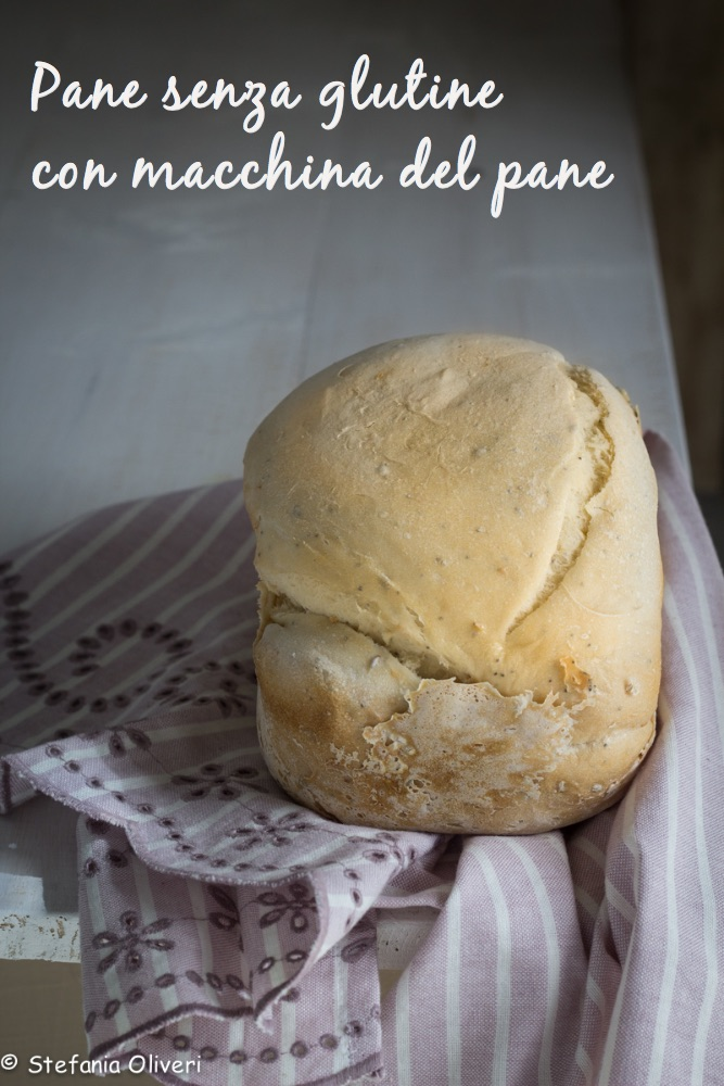pane senza glutine con la macchina del pane 1- Cardamomo & co