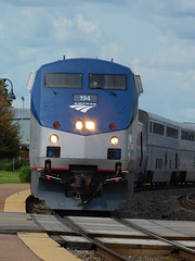 Amtrak #194 leading the CZ