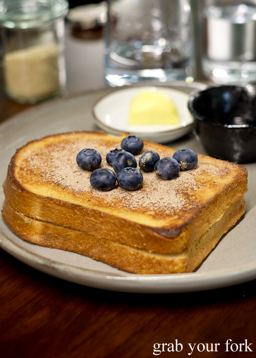 Hong Kong french toast at Paper Bird in Potts Point