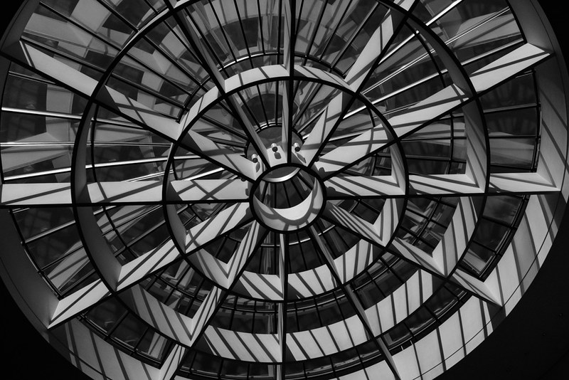 Munich - Pinakothek der Moderne - Stephan Braunfels - Museum - Black&White