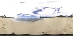 Mauna Lahilahi Beach in Makaha, Oahu, Hawaii - a 360° Equirectangular VR (VUZE VR)