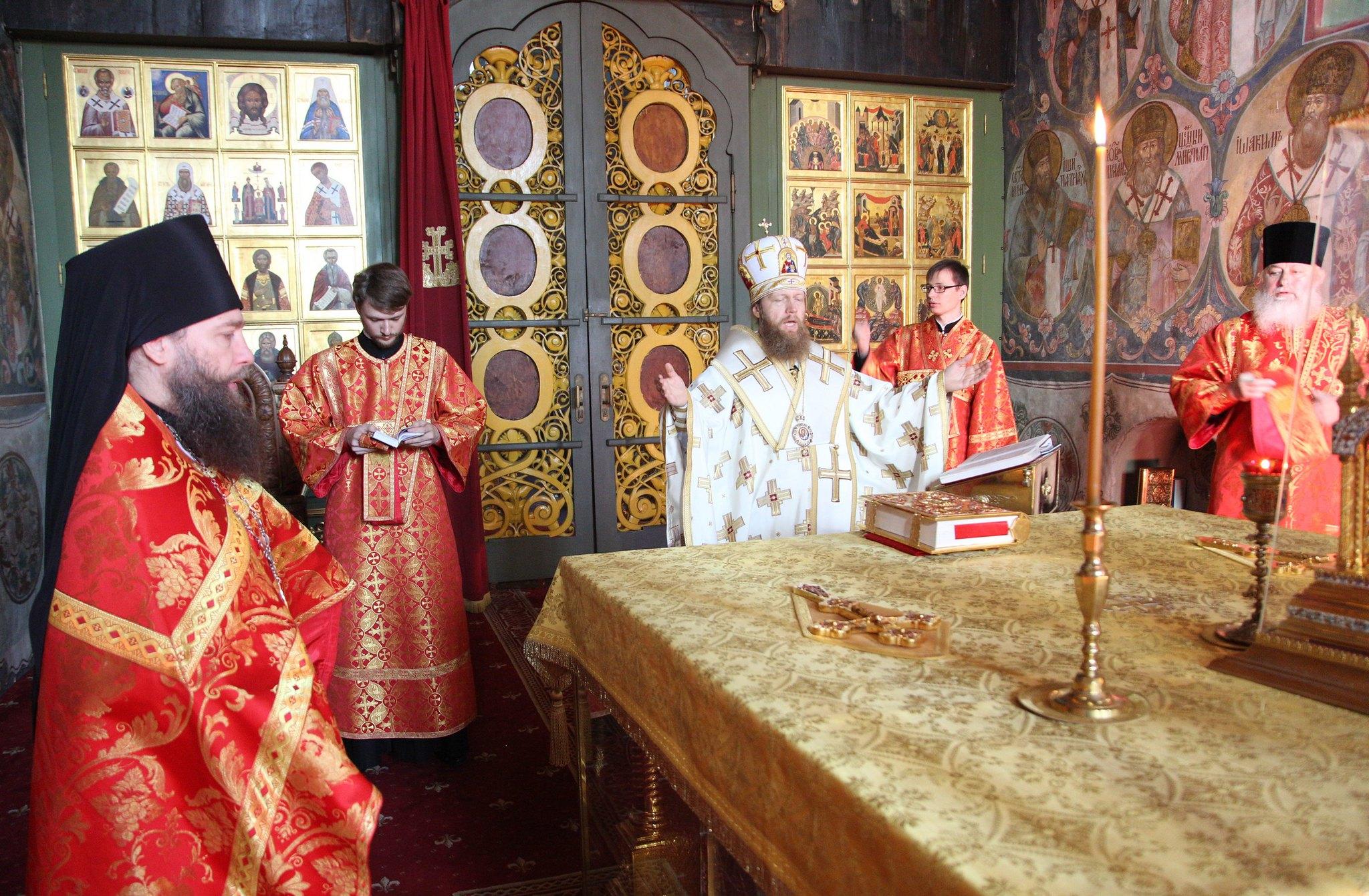 Память вмч. Пантелеимона. Божественная литургия