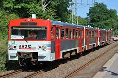 Regiobahn 2.42 en 2.39 bij Erkrath Nord (20170807)